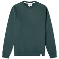 Norse Projects Vagn Classic Crew Sweat Green