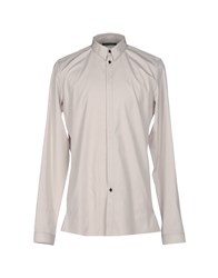 Nicolas Andreas Taralis Shirts Light Grey