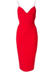 Alex Perry Mercer Dress Red