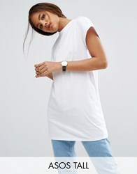 Asos Tall The Ultimate Easy Longline T Shirt White