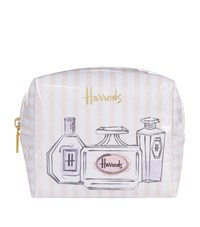 3a2dc1e27e88 Harrods Perfume Bottles Small Boxy Cosmetic Bag Pink
