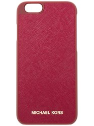 Michael Michael Kors Logo Print Iphone 6 6S Case Red