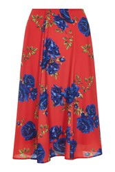 Havren Camilla Rose Print Skirt Multi Coloured Multi Coloured