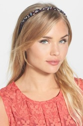 Cara Accessories 'Jenny' Beaded Headband Multi