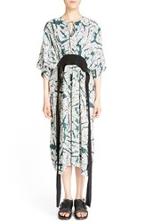 Cedric Charlier Women's Cedric Charlier Digital Palm Print Dress
