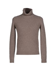 Kaos Knitwear Turtlenecks Men Dove Grey