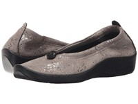 Arcopedico L14 Silver Sparkle Women's Flat Shoes