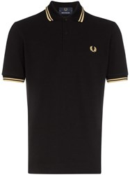 Fred Perry Stripe Trimmed Polo Shirt 60