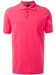 Y 3 Classic Pique Polo Shirt Pink Purple