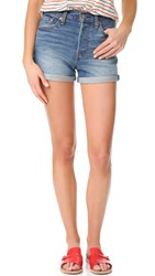 Levi's Wedgie Shorts Blue Cheer