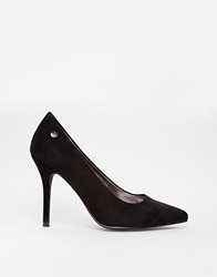 Blink Pointed Court Shoes Black