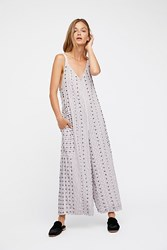 Free People Grace Embellished Jumpsuit By