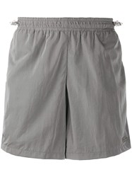 Misbhv Relaxed Track Shorts Grey