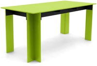 Loll Designs Hall Outdoor Dining Table Leaf Green