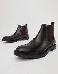 Base London Havoc Chelsea Boots In Black