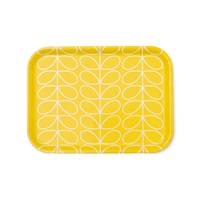 Orla Kiely Linear Stem Tray Yellow