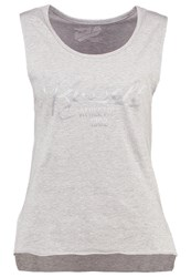 Russell Athletic Vest New Grey Marl