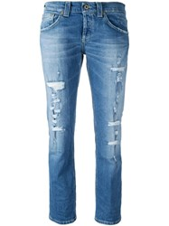 Dondup Ripped Jeans Blue