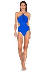 6 Shore Road Islanders One Piece Swimsuit Blue