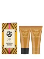 Oribe Cote D'azur Body Travel Set Transparent
