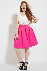 Forever 21 Plus Size Pleated Skirt