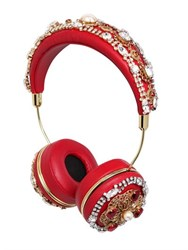Dolce And Gabbana Frends Embellished Headphones