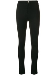 Simon Miller Fitted Skinny Trousers Black