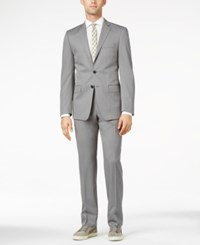 Calvin Klein Light Grey Extra Slim Fit Suit