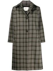 Mulberry Isabella Check Technical Coat 60