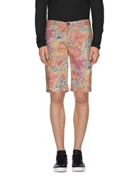 Rrd Trousers Bermuda Shorts Men Fuchsia