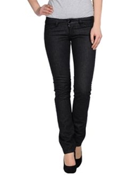 Shaft Denim Pants Black