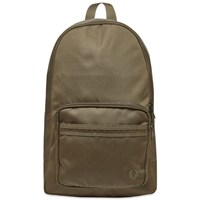 Fred Perry Tonal Tipped Backpack Green