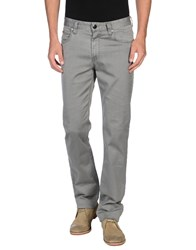 Armani Collezioni Denim Denim Trousers Men Grey