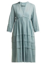 Loup Charmant Nova Organic Cotton Sun Dress Light Green