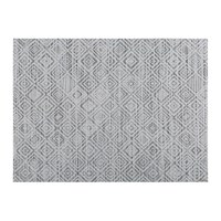 Chilewich Mosaic Rectangle Placemat White Black