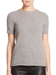 Theory Tolleree Cashmere Tee Grey