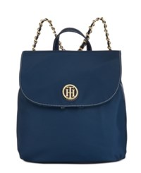 Tommy Hilfiger Petra Small Backpack Tommy Navy