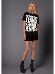 House Of Holland 10Th Anniversary Kendall T Shirt Black