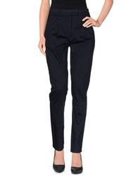 Alpha Studio Trousers Casual Trousers Women Dark Blue