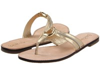 Lilly Pulitzer Mckim Sandal Gold Metal Sandals