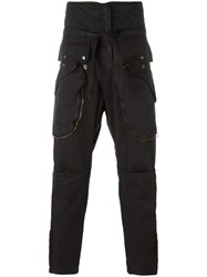 Faith Connexion Cargo Pants Black