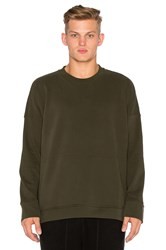 Stampd Draped Crew Olive