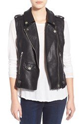 Blank Nyc Women's Blanknyc Faux Leather Moto Vest