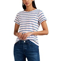 Maison Labiche Out Of Office Striped Cotton T Shirt Multi