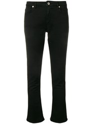 Dondup Cropped Flared Trousers Black