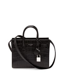 Sac De Jour Mini Crossbody Bag Black Saint Laurent