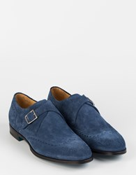 Sutor Mantellassi Perseo Monk Shoes Bluette