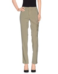 Mason's Trousers Casual Trousers Women Military Green