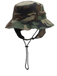 New Era Adventure Dogear Bucket Hat Green
