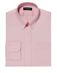 Lauren Ralph Lauren Classic Fit Pinpoint Oxford Dress Shirt Pink